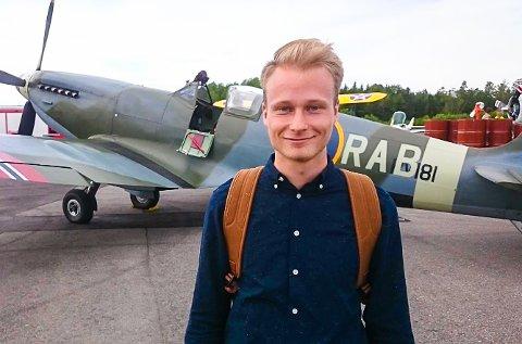 JON MICHELETS STIPENDIAT: Erlend Braaten Lundvall fikk det Jon Michelet-mastergradsstipend tidligere i år.