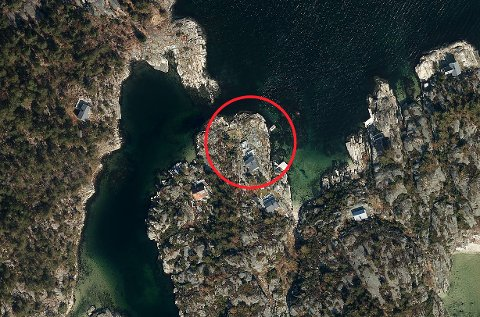 Vardøya 8 er adressen til hytta ved Perleporten, som ligger på Lille Vardøya.