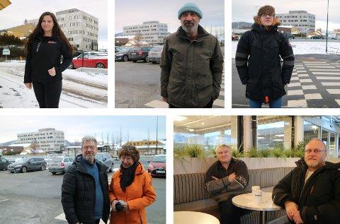 Katrine Breivik, Oskaras Malinauskas, Daniel Ducrocq, Svein Endresen, Grethe Dale, Asbjørn Solheim og Åsmund Karlsen.