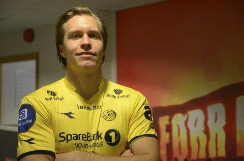 Martin Bjørnbak er Glimts beste på børsen.