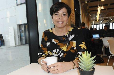 Lufthavnsjefen: I ett år har Inger-Hilde Tobiassen vært luftfartssjef i Bodø. – Tror jeg er en god koordinator. Og jeg har et dyktig team rundt meg, sier den beskjedne trønderen på kav nordlending.