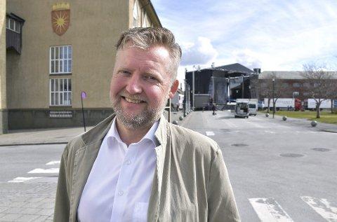 Skifter jobb: Terje Edelsteen Moen har de siste åtte årene jobbet som banksjef i SpareBank 1 Nord-Norge. Nå er det slutt.
