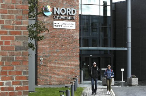 FLERE PLASSER: Regjeringen tildeler Nord universitet 160 nye studieplasser til neste år. Det presiseres at universitetet selv kan bestemme på hvilke campus plassene skal legges.