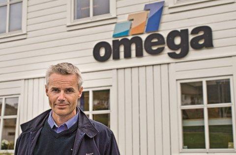 Petter Aalvik er administrerende direktør i Omega AS som skal lede alliansen. FOTO: OMEGA