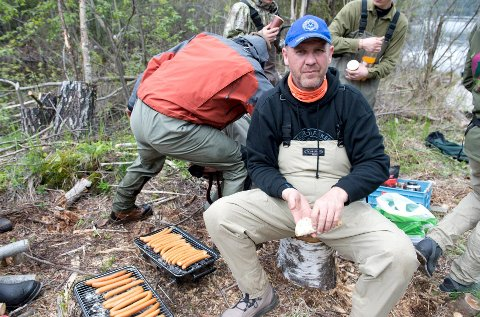 Ildsjelen Kenneth Bruvik er glad for engasjementet plasthvalen har utløst.