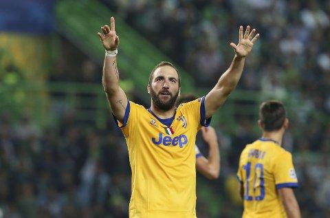 Juventus og Gonzalo Higuain jakter tabelltoppen i Serie A, og de kan innta den fredag kveld om de vinner mot Fiorentina.