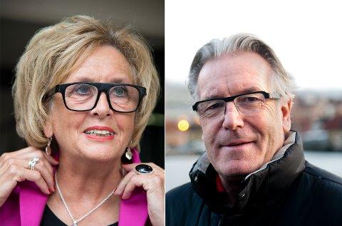 Trude Drevland og Davy Wathne er på hjul,  for Bergen kommune på Verdensdagen for Psykisk Helse. Arkivfoto: BA