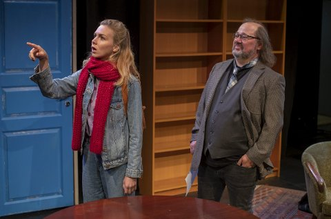 Neste fredag er det duket for et aldri så lite komisk drama på Cornerteateret når Hanne Mellingenog Knut Elvik går på scenen i «Å undervise Rita».