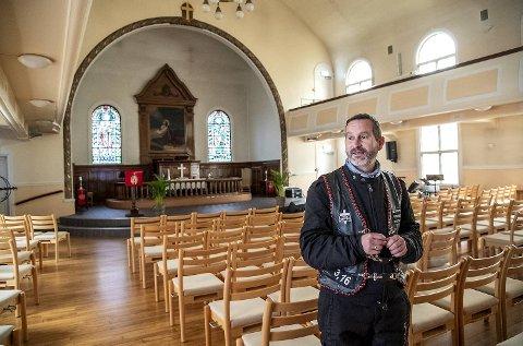 Dag Martin Østevold, pastor i Centralkirken.