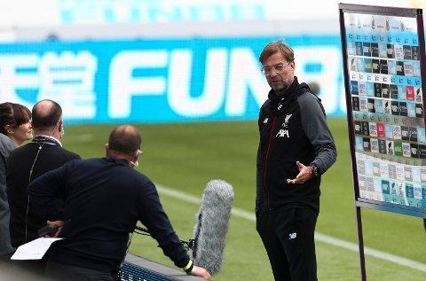 På lørdag kan du se Jürgen Klopp og hans Liverpool spille treningskamp mot Stuttgart her på BA.no.