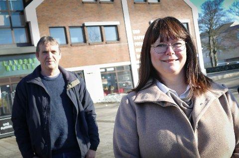 Kurt Randeberg er leder og Tone Gjerde er kasserer i Randaberg Frp.