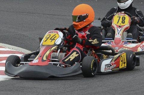 KRASJET: Sander Strandbråten fikk kun fullført ett heat under verdensfinalen på Le Mans-banen.