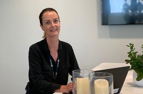 SATSER: Gjensidige åpner kontor i Vikersund. Nå er salgsleder Tone Elisabeth Merakerås på jakt etter lokale rådgivere.