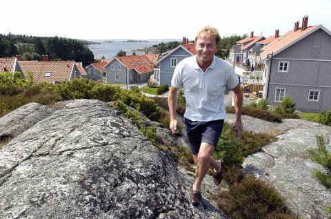 Vidar Lyhus fra Reistad i Lier har gjort stor suksess med konseptet Eurocash på svenskegrensen.