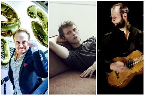 NOMINERTE: Freddy Kalas, Nils Bech og Stein Torleif Bjella er nominert i Spellemannprisen.