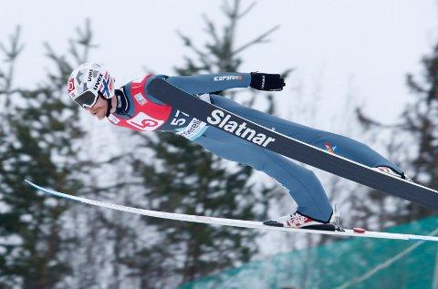 Robert Johansson fikk det ikke til å stemme da Raw Air inntok skiflygingsbakken i Vikersund.