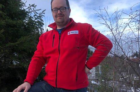 Birger Torgersen er beæret over å bli valgt til leder i Enebakk Røde Kors og gleder seg til å ta fatt på oppgavene fremover.
