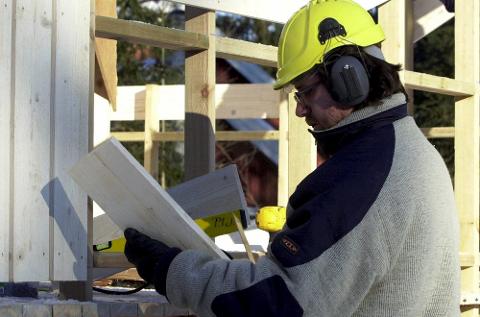 Bygging: Mange huseiere har spørsmål om bygging på egen eiendom. Foto: Knut Fjeldstad, NTB scanpix/ANB