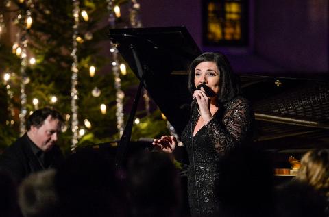 JULEKONSERT: Hver jul de siste årene har Marianne Antonsen invitert til julekonserten «Soulful Christmas» Østre Fredrikstad kirke.