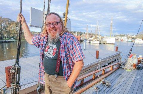 Fortsatt båt: Knut Sørensen skal fortatt være blant båtene på isegran, nå i en rolle gjennom Borg havn.