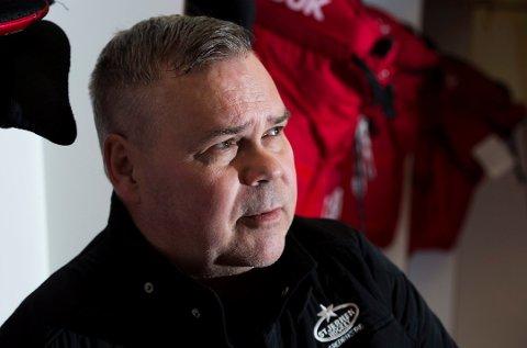 Seks kamper: Leif Strömberg og Stjernen skal spille seks treningskamper før seriestart. (Foto: Erik Hagen)