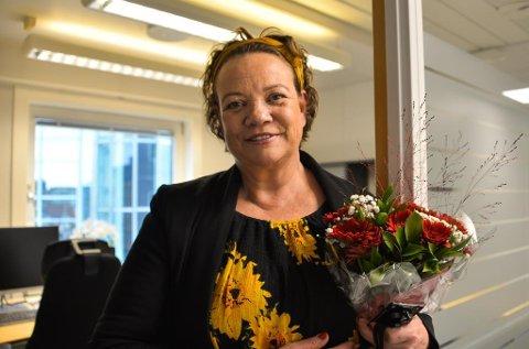 Startet i ny jobb mandag: Fylkesråd Camilla Sørensen Eidsvold har fått kontorplass i Galleriet i Oslo og forbereder overgangen til Viken fylke fra 1. januar. (Foto: Pål Vikesland, Østfold fylkeskommune)