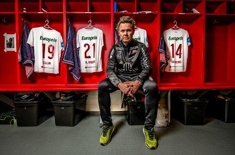 """Sjefen: Bjørn """"Bummen"""" Johansen er strålende fornøyd med sesongoppkjøringen. - Vi har matchet oss mot god motstand, fått de svarene vi har ønsket å få og fått justert oss inn deretter, sier Johansen."""