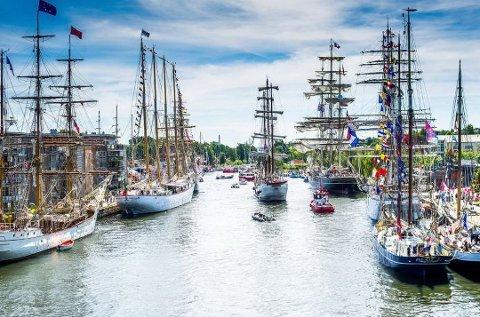 FOLKSOMT: Det blir som vanlig folksomt under Tall Ships Races. Allerede denne uken må publikum være forberedt på stengte veier i sentrum.
