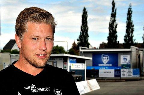 MED PÅ KURS: Niklas Nyland deltar på tirsdagens kurs i regi av NFF Østfold.