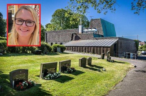 Krematoriet i Sarpsborg (bildet) er modent for utskifting, mens Fredrikstad ikke lenger har noe krematorium. I formannskapet advarte Silje L. Waters (SV) sterkt mot kniving mellom byene og omkamper når de to nabokommunene nå skal samarbeide om å bygge et nytt.
