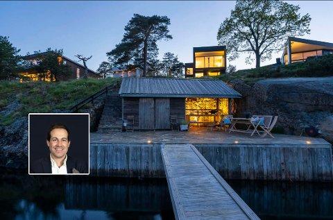 Didrik Schou i EIE Eiendomsmegling sier dette er den typen bolig som bare dukker opp for salg en gang eller to løpet av et år.