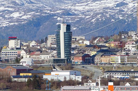 Arkitekten som de siste årene har fått sette et tydelig preg på Narvik, som med det som nå er blitt Scandic-hotell, er konkurs.
