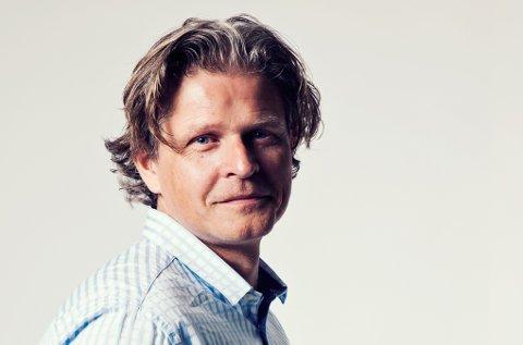 Kommunikasjonsleder Gaute Christensen hos Multiconsult