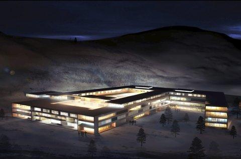 Helsehus: I tilknytning til det nye sykehuset på Furumoen er det planlagt bygget et helsehus.