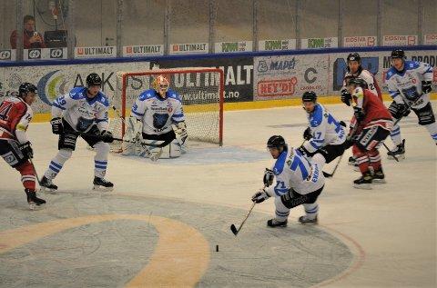 BARE NESTEN: Narvik gikk på nok et ettmåls-tap, da Lillehammer ble for sterke med sluttresultatet 4-3.