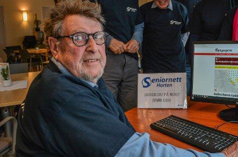 RYSTET: Leder i Seniornett Horten er sjokkert, men ikke overrasket over at svindlere blinker ut eldre mennesker.