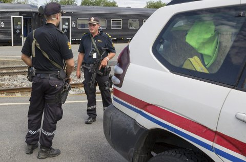 Mer synlig politi: Statsbudsjettet gir håp om flere politistillinger i Glåmdal.foto: Kjell r. Hermansen