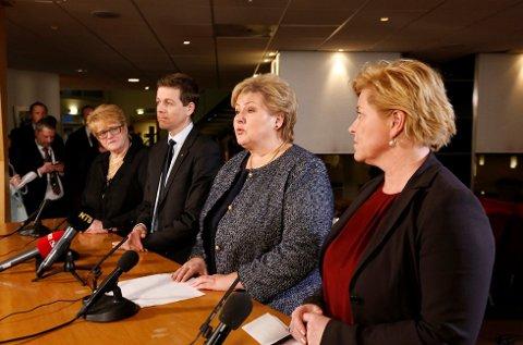 Det er politikere som Trine Skei Grande (V), Knut Arild Hareide (KrF), statsminister Erna Solberg (H) og Siv Jensen (Frp) norske bønder frykter mest. På plassen bak kommer tap av egen helse som følge av sykdom eller ulykke.