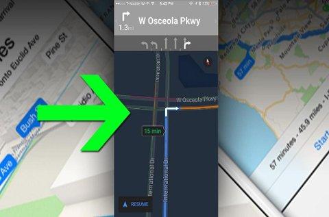 Google Maps fått enda en nyttig funksjon: Nattmodus. (Foto: Imgur/montasje/ANB)