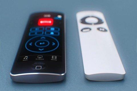 Apple vil trolig utgi en ny Apple TV sammen med den nye iPhonen i september.  (Foto: Curved/ANB)