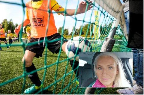 SLÅR ET SLAG FOR KLUBBENE: Kostnadsutviklingen i idretten har fått mye oppmerksomhet, men styreleder i Indre Østland Fotballkrets, Ane Guro Skaare-Rekdal, tar opp kampen på vegne av klubbene.
