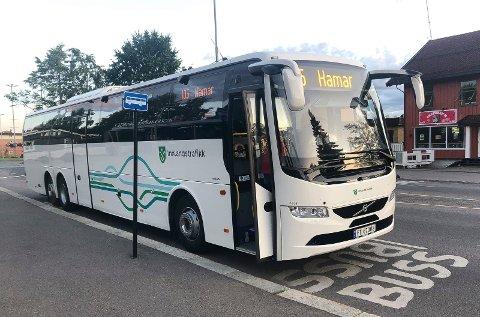 INNSTILT: Alle Innlandstrafikks busser er innstilt flere dager i påsken, bortsett fra enkelte steder i gamle Oppland.