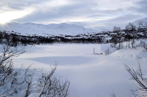 SNØ: Det er populært å gå til Skridulaupen og Krosshø fra Grotli.