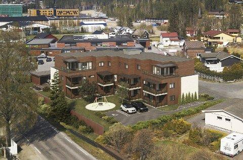 SØVOLD: To av ti leiligheter er solgt kort tid etter salgsstart.