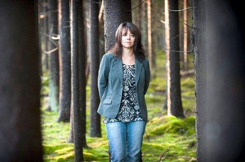 JUBLER: Solveig Toft (V) har kjempet mot vindmøllene i Aremark. Hun er jublende glad for den endelige nei-avgjørelsen.
