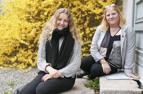 STÅR MER STØTT: Helmine Herrebrøden (13) har gått på selvfølelseskurs hos Anne-Mette Strand. – Nå står jeg stødigere i meg selv og vet at den jeg er og det jeg gjør, er godt nok, sier ungdomsskoleeleven.