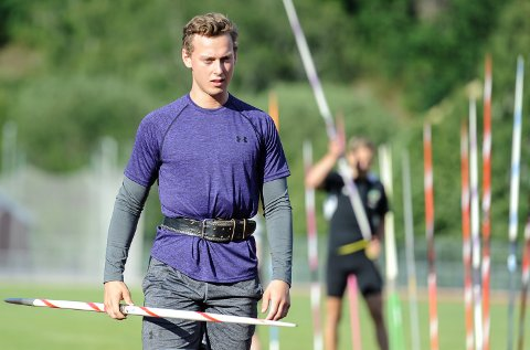 PÅ VEI: Jarl Bjørklund har slitt med ryggvondt, men er på vei tilbake og håper å klare kravet til U23-EM.