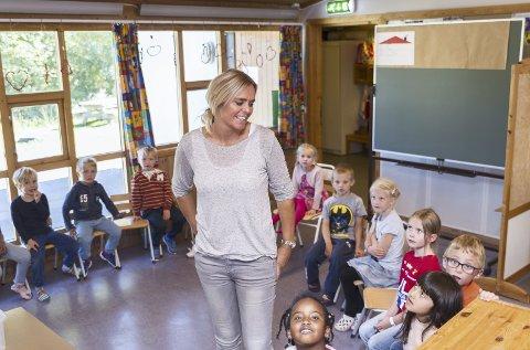 POPULÆRT: – Vi er tilretteleggere for aktivitet, men barna må også få lov til å velge litt selv. For barn trenger å få bestemme over tiden sin selv. Det er også en del av å bli voksne, sier Inger Lise Øien på Prestrud SFO.