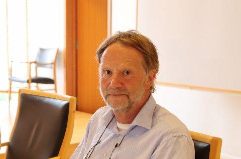 Kjetil Johnsen, som er dagleg leiar i Hardanger Lift, i Hardanger tingrett under saka mot Håvås sameige.