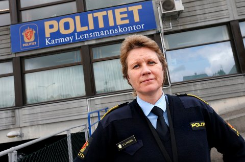 VIL HA LOKAL LEDERJOBB: Tidligere Karmøy-lensmann Marit Ellingsen er i dag forbundsleder i Norges Politilederlag i Parat. Nå ønsker hun å ha ansvaret for Sauda, Suldal, Etne og Vindafjord.